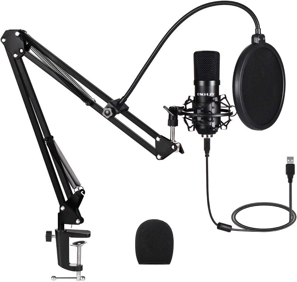 Micrófono profesional para computadora de 192 kHz / 24 bits