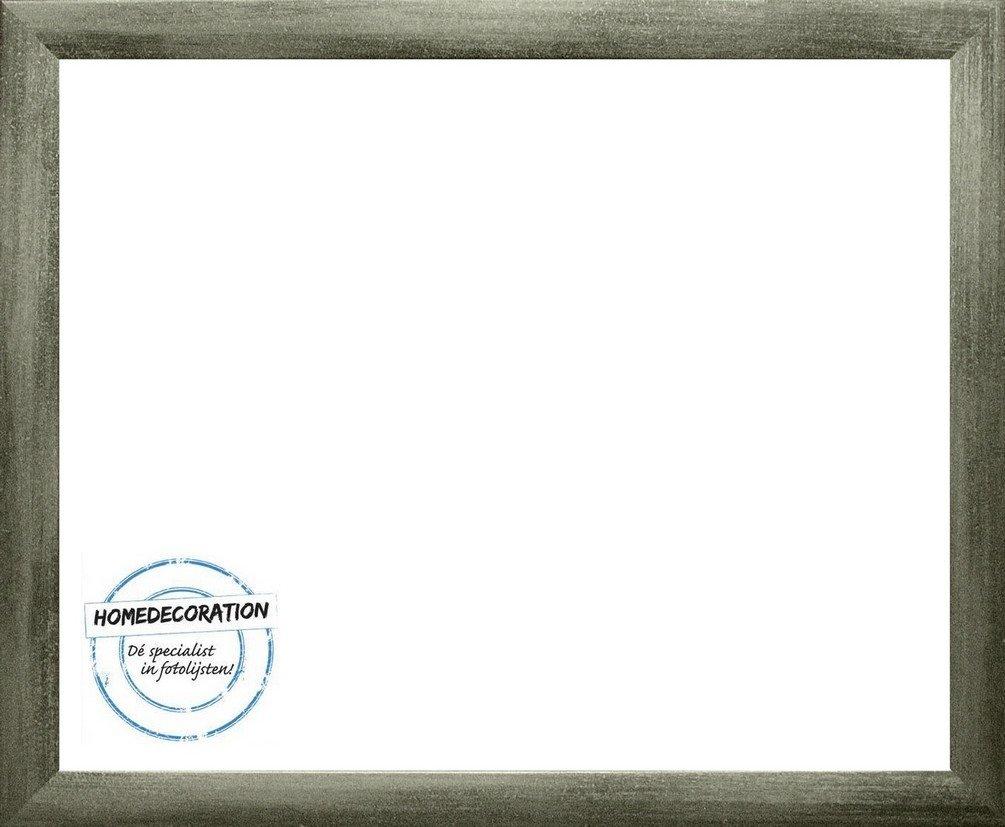Home Decoration Panama Holzwerkstoff 70 x 105 cm Größenwahl in 51 Farben 105 x 70 cm hier  Grau gewischt mit Acrylglas Antireflex 2 mm