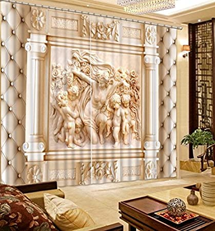 Exceptionnel Wapel European Living Room Curtains 3D Relief Jade Bedroom Blackout Curtains  Beautiful 3D Window Curtain Home