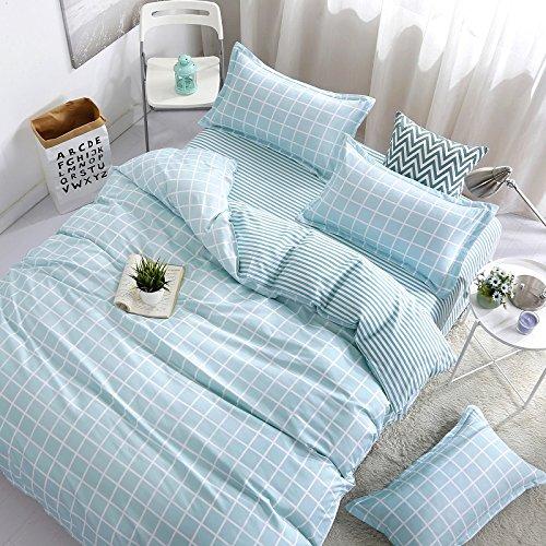 Chic Bed SET Bedding Children Duvet Cover Set Flat Bed Sheet Pillowcase No  Comforter 4pcs SJD