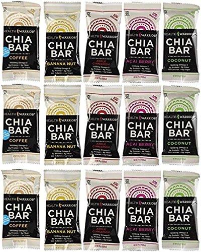 (Health Warrior Chia Bars Variety,)