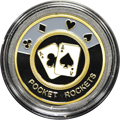 UPC 602288435620, MRC Poker Hand Painted Poker Card Guard Protector - Pocket Rocket