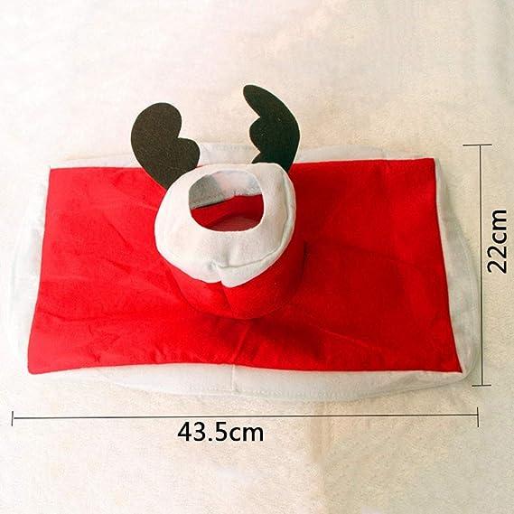 winoil Juego de WC de 3 Tapa de baño de Alces de Navidad Almohadilla para el pie Tapón de radiador Juego de Toallas de Papel: Amazon.es: Deportes y aire ...