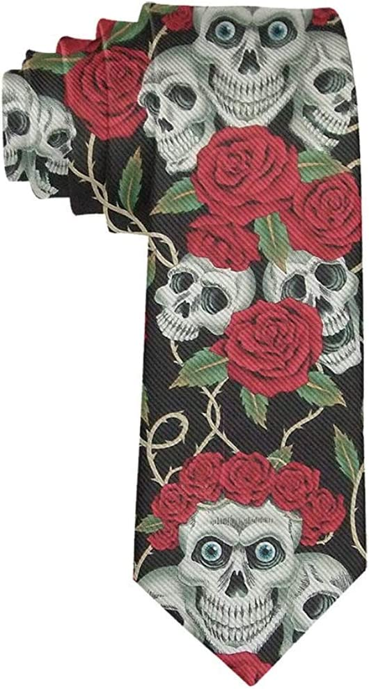 Acheter cravate tete de mort online 11