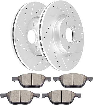 Ceramic Pads for Ford C-Max Escape Volvo C30 C70 S40 V50 Front Brake Rotors