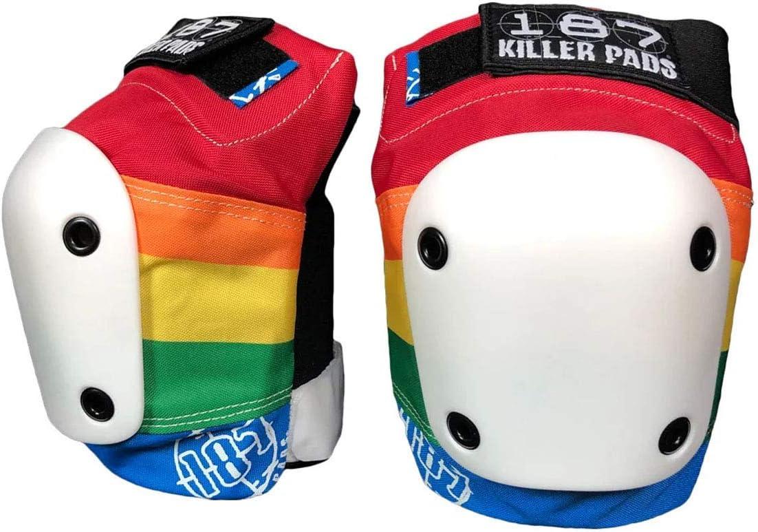Rainbow, Small Triple Eight 187 Killer Pads Slim Knee Pad