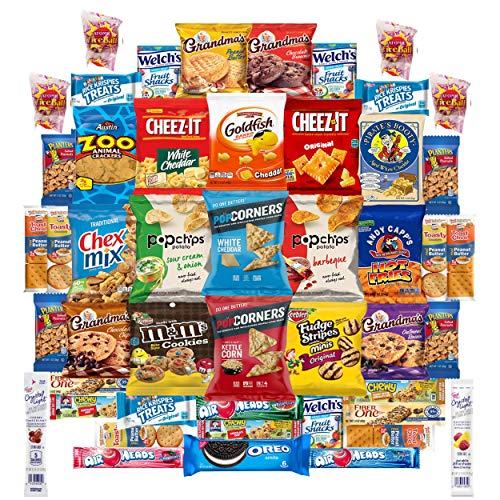 Stubby Pubby Ultimate Cookies & Snacks Candy Sampler Care Package (56 Count)]()