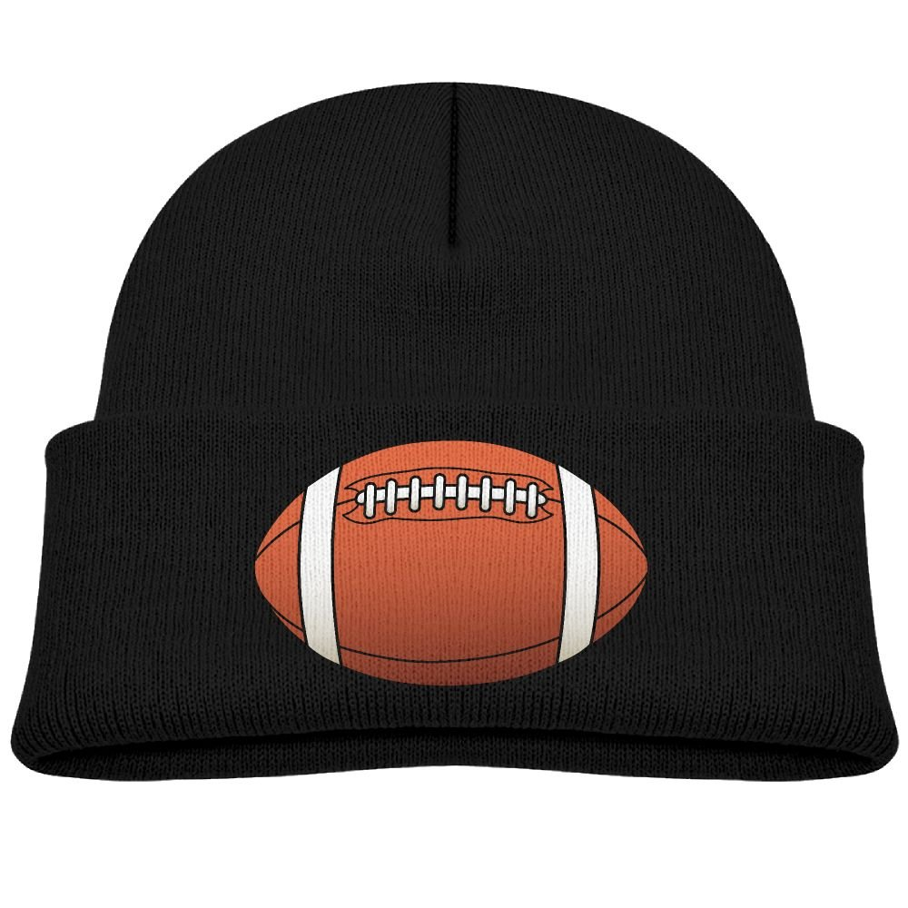 Amazon.com  Art Athletics Football Sports Clipart Kid Knit Beanies Hats For Boys  Girls Winter Woolen Toddler Trucker Baseball Caps Snapback  Clothing 6da8c5a4d