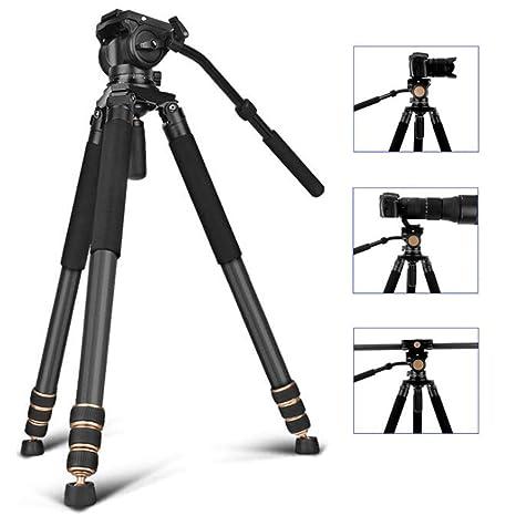 Trípode, cámara réflex, cámara de fibra de carbono, portaobjetos ...