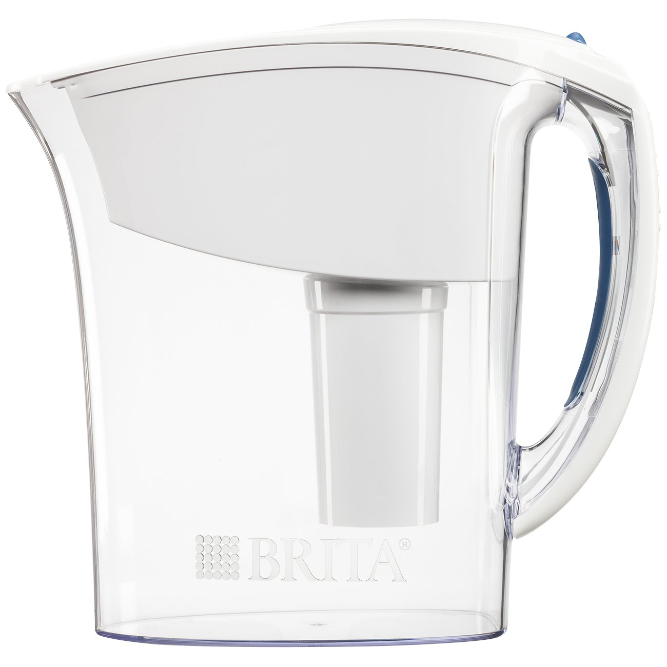 Brita Small 6 Cup Water Filter Pitcher with 1 Standard Filter