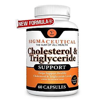 Amazon Com Cholesterol Lowering Supplement Lower Triglycerides