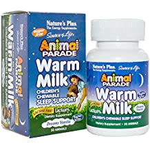 Nature'S Plus Source Of Life Animal Parade Warm Milk-Dreamy Vanilla - 30 - Ch... by Nature's Plus