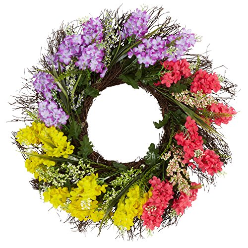 Yellow Artificial Wreath - 4