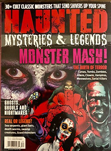 HAUNTED MYSTERIES AND LEGENDS MAGAZINE FALL 2017** for $<!--$8.99-->