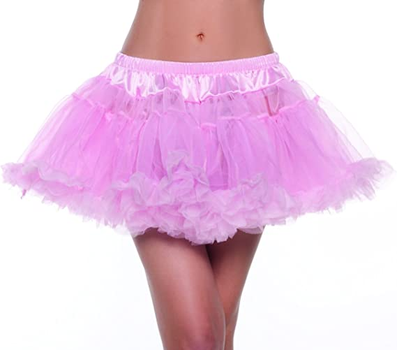 Be Wicked Costumes Womens Kate 12 Inch 2-Layer Petticoat Costume Accessory