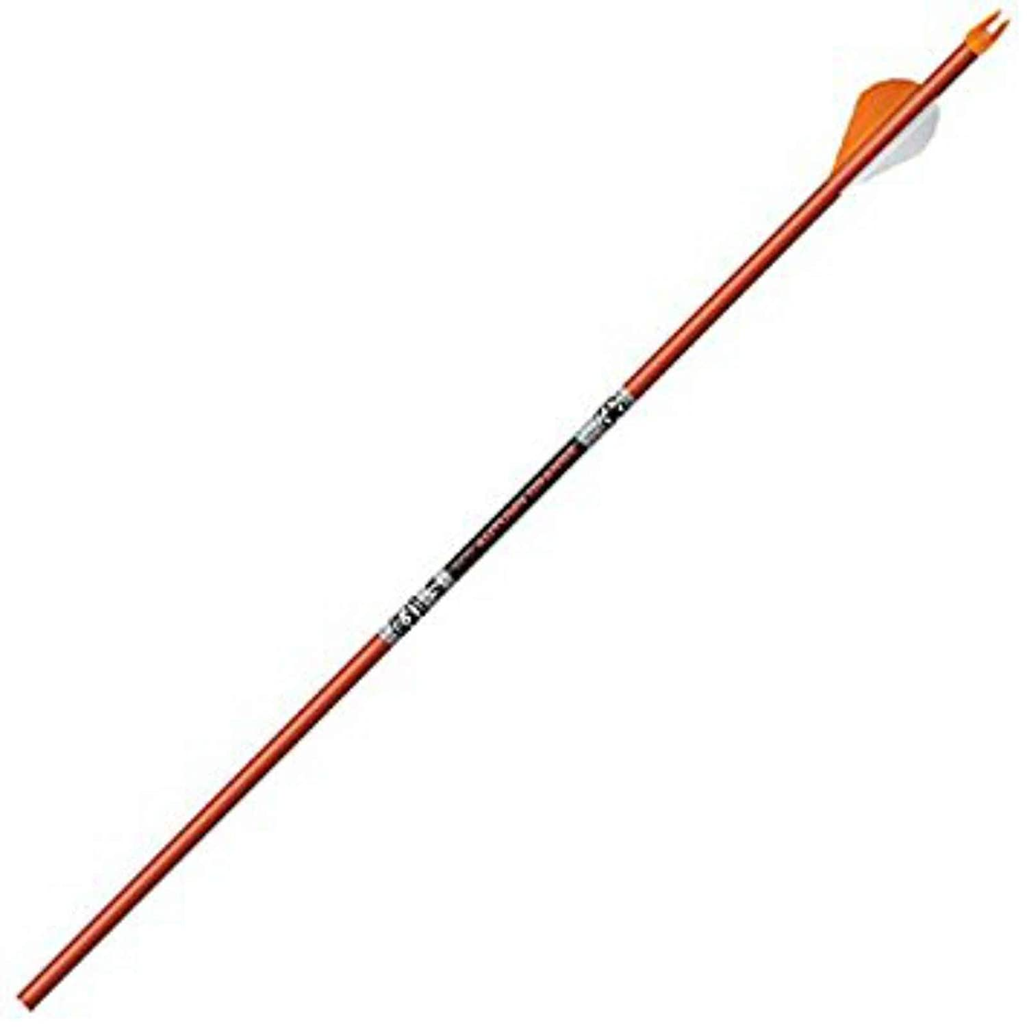 Easton 6mm FMJ Arrows Autumn Blazers 6 PK Orange, 320