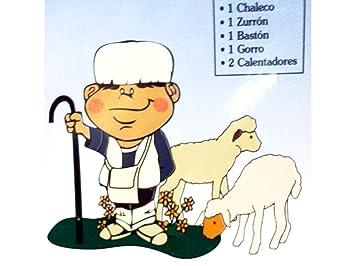 GARRACHON Disfraz infantil pastor niño (blister): Amazon.es ...