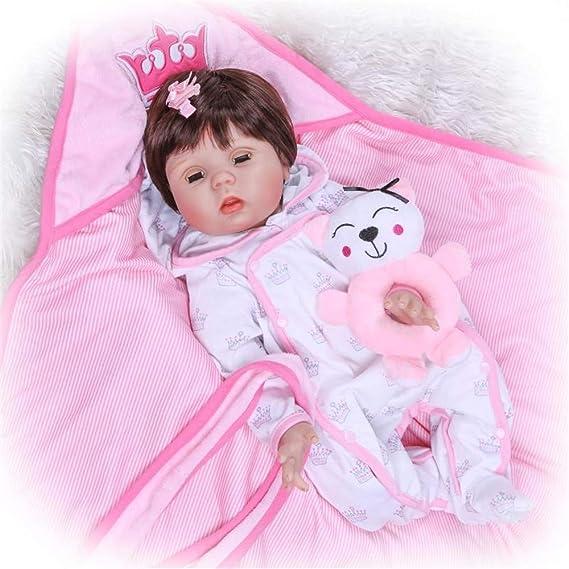 Amazon.com: CYNPK 22.4 in ojos puede abrir y cerrar muñeca ...