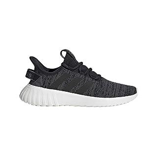 adidas Women's Kaptir X Running Shoe, Black/Black/Grey, 9.5 M US