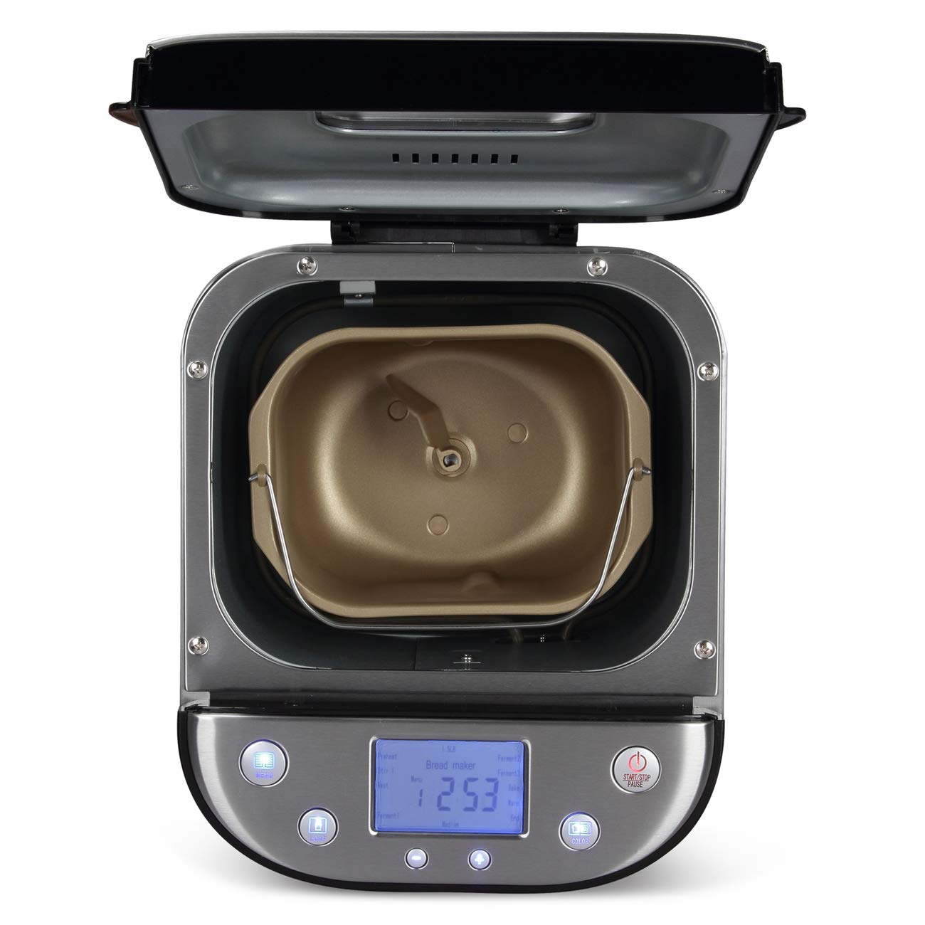 Amazon.com: DELLA 2LB - Máquina de pan, temporizador ...
