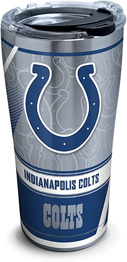 NFL Indianapolis Colts 20oz Insulated Acrylic Tumbler Set of 2
