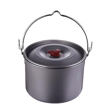 FAStar Camping Cookware Kit, portátil ligero conjunto de utensilios de cocina, cocina de campaña