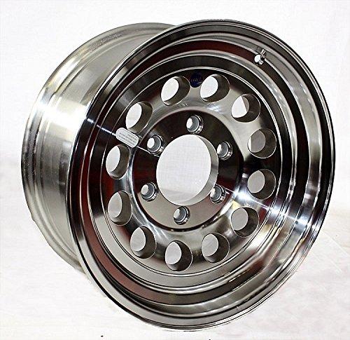 16 x 7 Aluminum Modular Hi Spec Trailer Wheel (6-Lug), 3,200 lb -