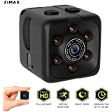 Upgrade 2018-19!! Mini Spy Camera Hidden Camera Zimax HD 1080P Indoor Home