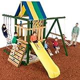 Swing N Slide Yukon Wood Complete Ready-to-Assemble Swing Set Kit