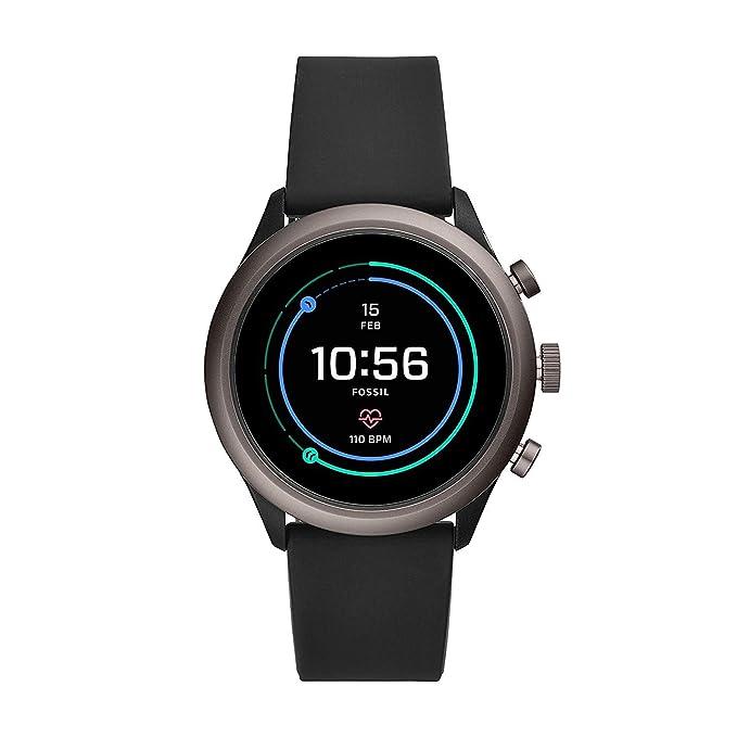 Fossil FTW4019P Reloj Inteligente Negro: Amazon.es: Electrónica