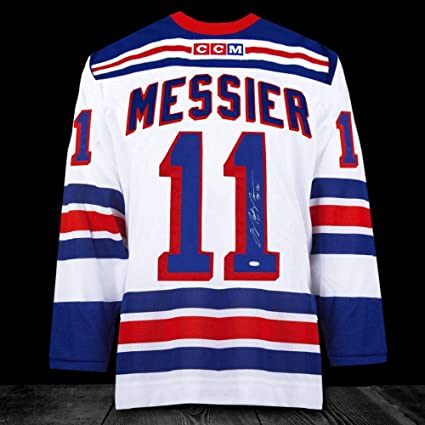 watch a78fa ae1bf Signed Mark Messier Jersey - 94 CUP CCM - Autographed NHL ...