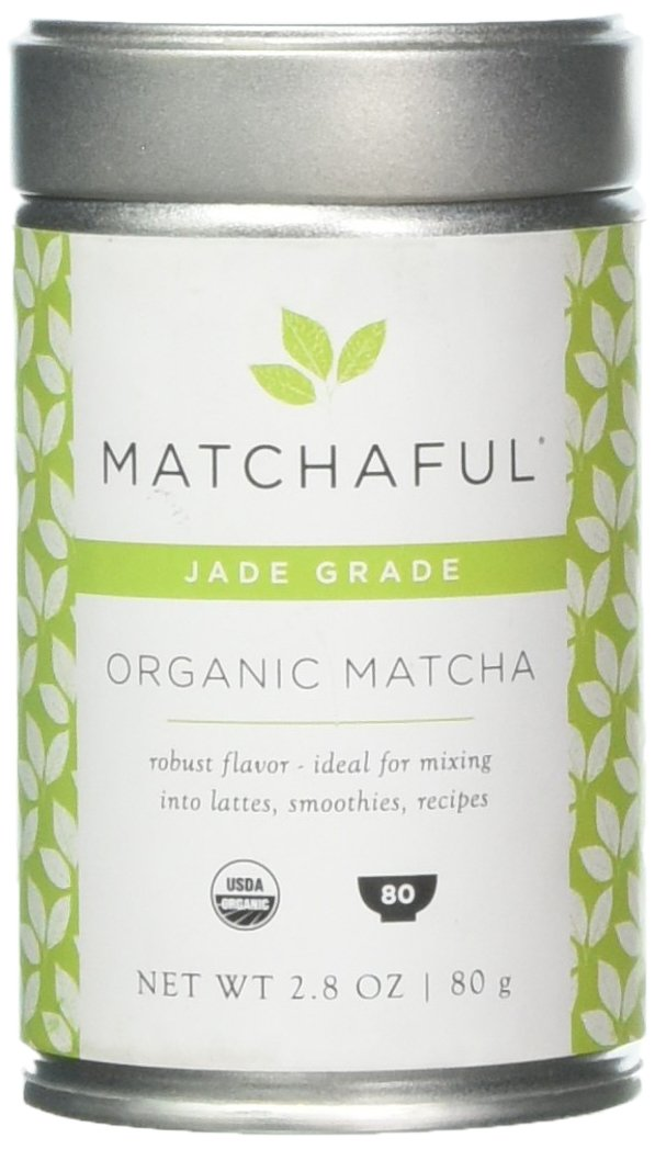MATCHAFUL Jade Premium USDA Organic Culinary Matcha, 80 Gram