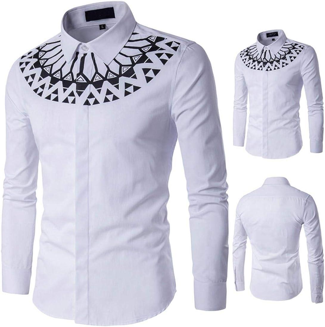 Yvelands Camiseta a Rayas de Moda Hombres Camisa de Moda ...