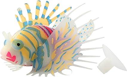 6pcs Aquarium Fish Tank Artificial Fish Multicolor Fish Ornament Decoration