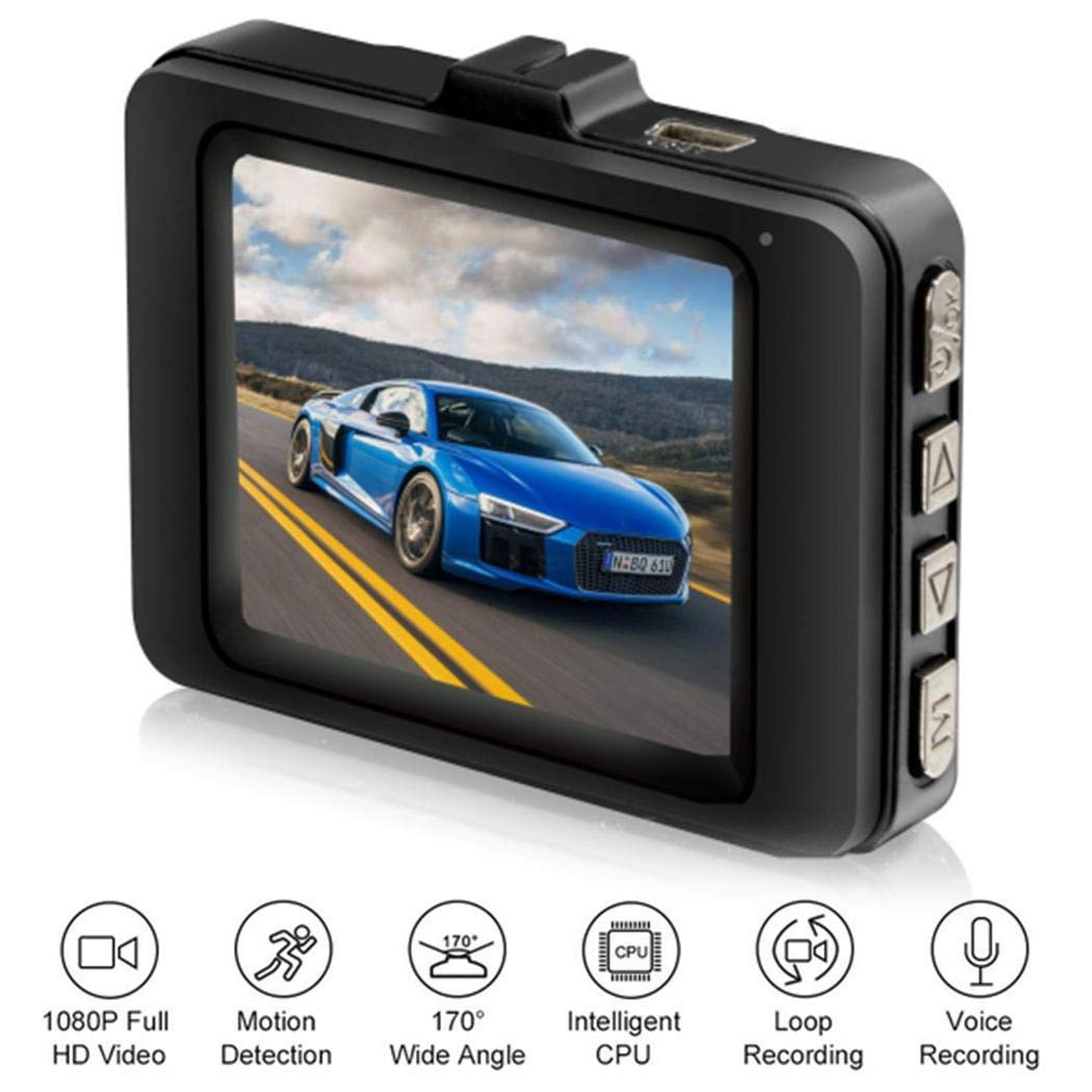 Atmeyol HD 1080P Multi-function Mini Driving Recorder 2.2 inch Display Screen On-Dash Video by Atmeyol_Car Electronics (Image #1)