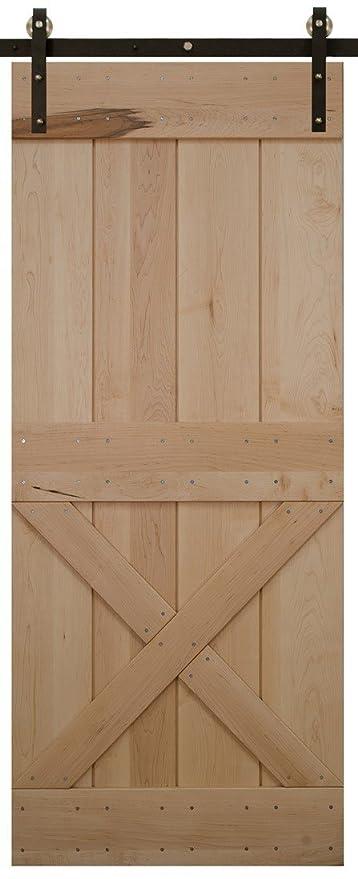 Amazon Barn Door Custom Made Lower X Solid Wood Pine