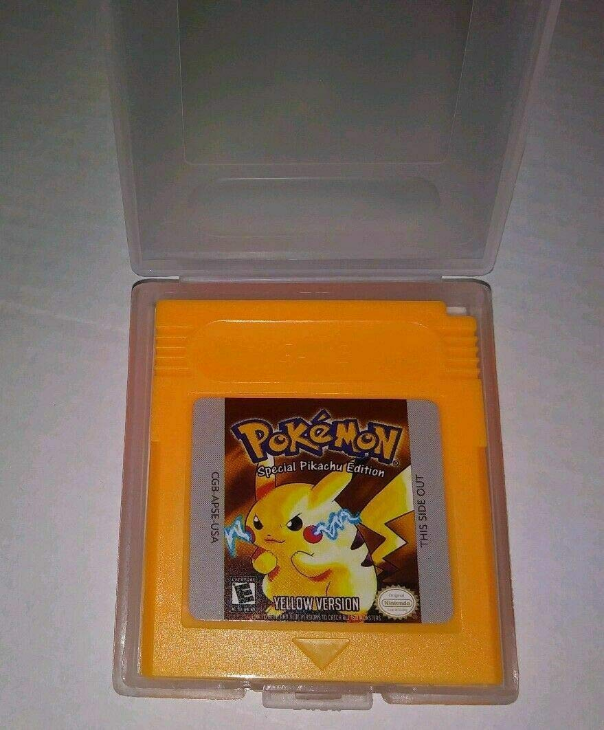 Pokemon Gameboy Color Collection 7-Pack (Green, Blue, Red, Yellow, Gold, Crystal, Silver) USA: Video Games