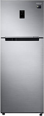 Samsung 415 L 3 Star Frost Free Double Door Refrigerator(RT42M5538S8/TL, Elegant Inox, Convertible)