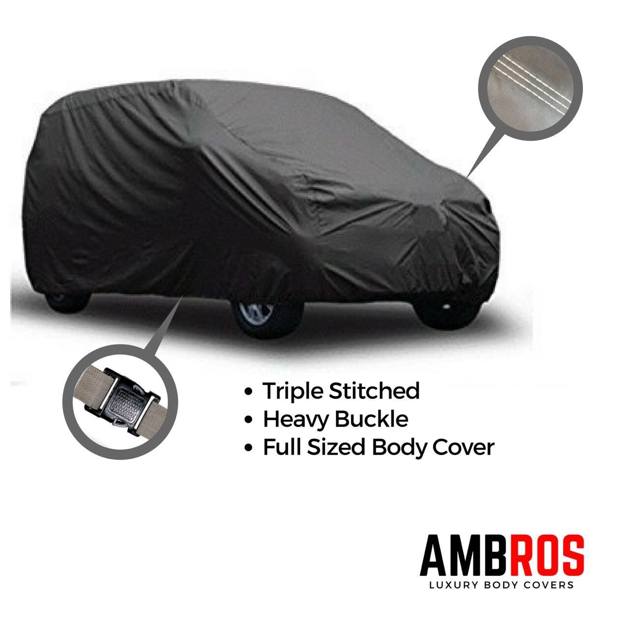 Car covers buy car covers online at best prices in india amazon ambros premium grey car body cover triple stiched for maruti alto k10 alto 800 fandeluxe Images