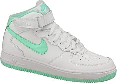 Dinamarca Gobernador hazlo plano  Amazon.com: Nike Air Force 1 Mid (GS) Zapatillas de jóvenes: Shoes