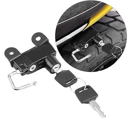 Casco de bloqueo bloqueo de casco de motocicleta con 2 llaves para Ducati Scrambler 400 Modelos sesenta 2 2015+