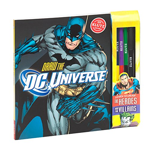 Klutz Draw DC Universe: Learn to Draw The Heroes & The Villains Craft - To Package A Internationally Ship How