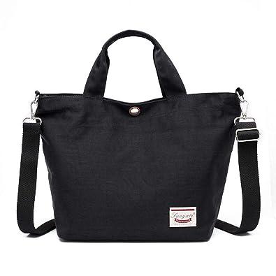 05173aab40 Amazon.com  Multi-Color Women Oxford Cloth Shoulder Bag Satchel Waterproof Handbag  Tote Purse