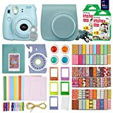 MiniMate FujiFilm Instax Mini 8 Camera with 40 Instax Film and Accessory Bundle, Blue