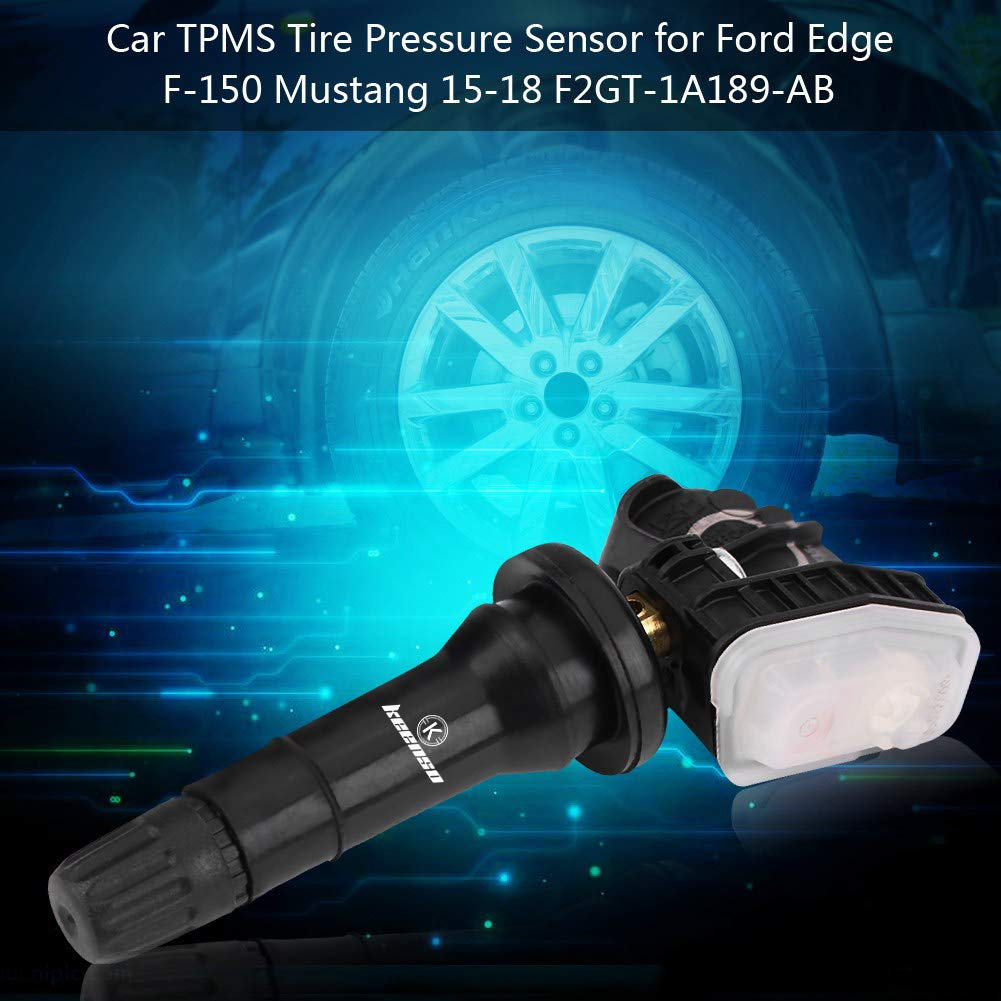 Car TPMS Internal Sensor Keenso Tire Pressure Monitoring System Tire Internal Sensor Replacement for Ford Edge F-150 Mustang 2015-2018