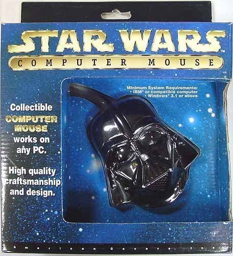BINGFEI 2.4Ghz Wireless Mouse Cool USB Optical Ultra Thin Darth Vader Mice 1600DPI Computer Slim Gaming Mause for PC Laptop Boy