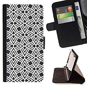Momo Phone Case / Flip Funda de Cuero Case Cover - Design Pattern Wallpaper - Huawei Ascend P8 Lite (Not for Normal P8)