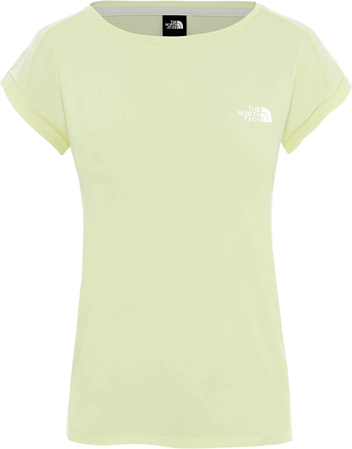 The North Face W Tanken Tank Tender Yellow tee Mujer ...