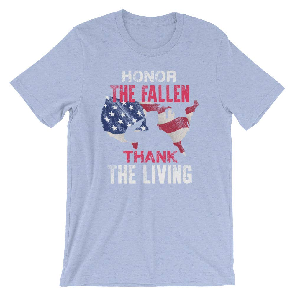 Honor The Fallen Veteran Themed Military Support Short-Sleeve Unisex T-Shirt