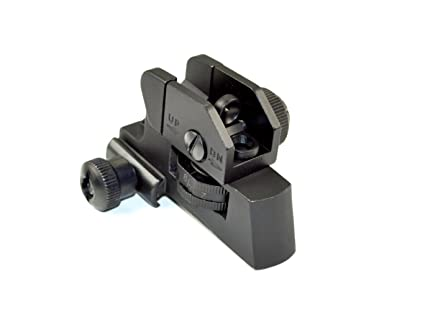 amazon com sniper complete rear sight with windage elevation